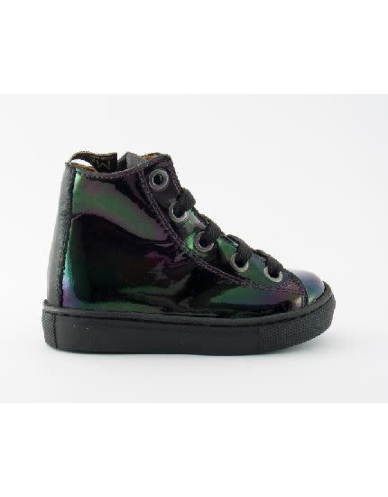 MAÁ sneaker black parelmour
