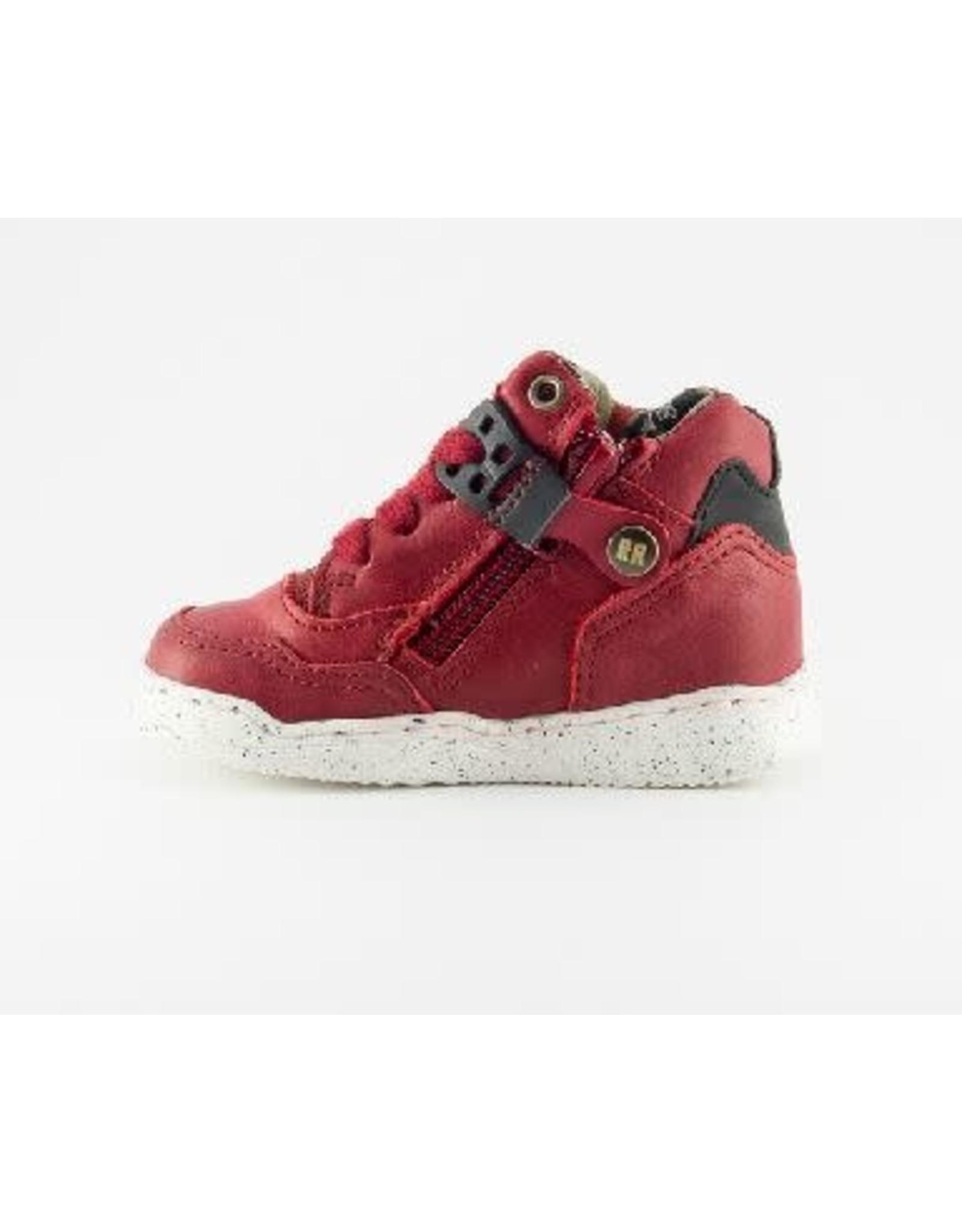 RedRag sneaker red waxed