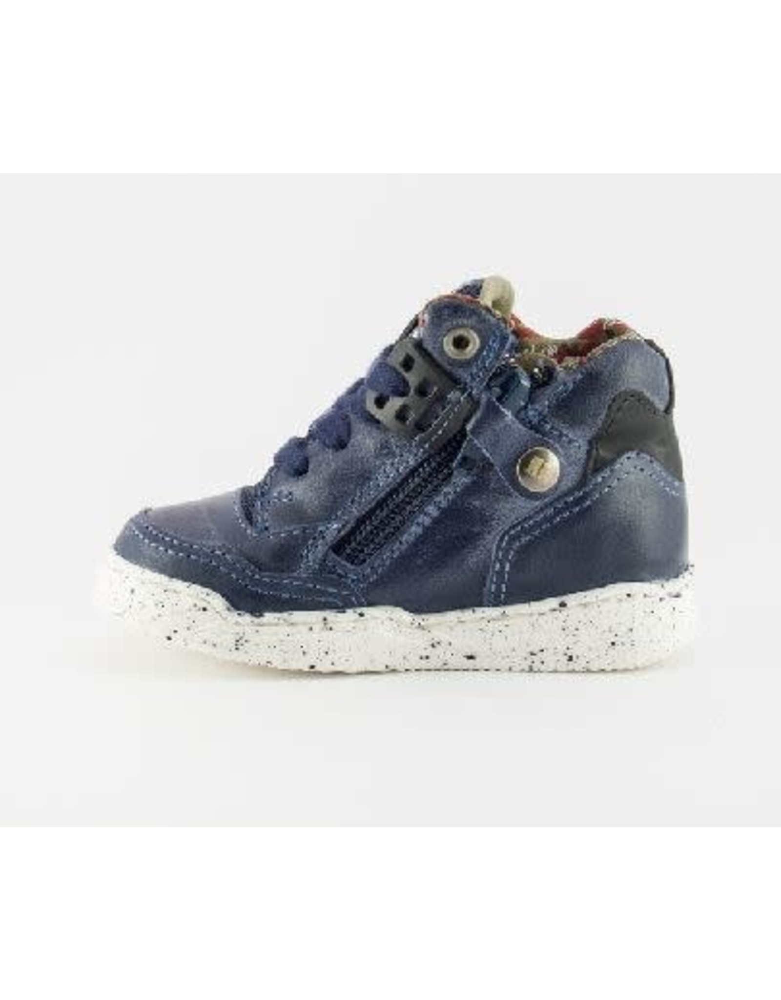 RedRag sneaker navy waxed