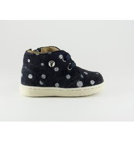 Walkey sneaker blue silver dots