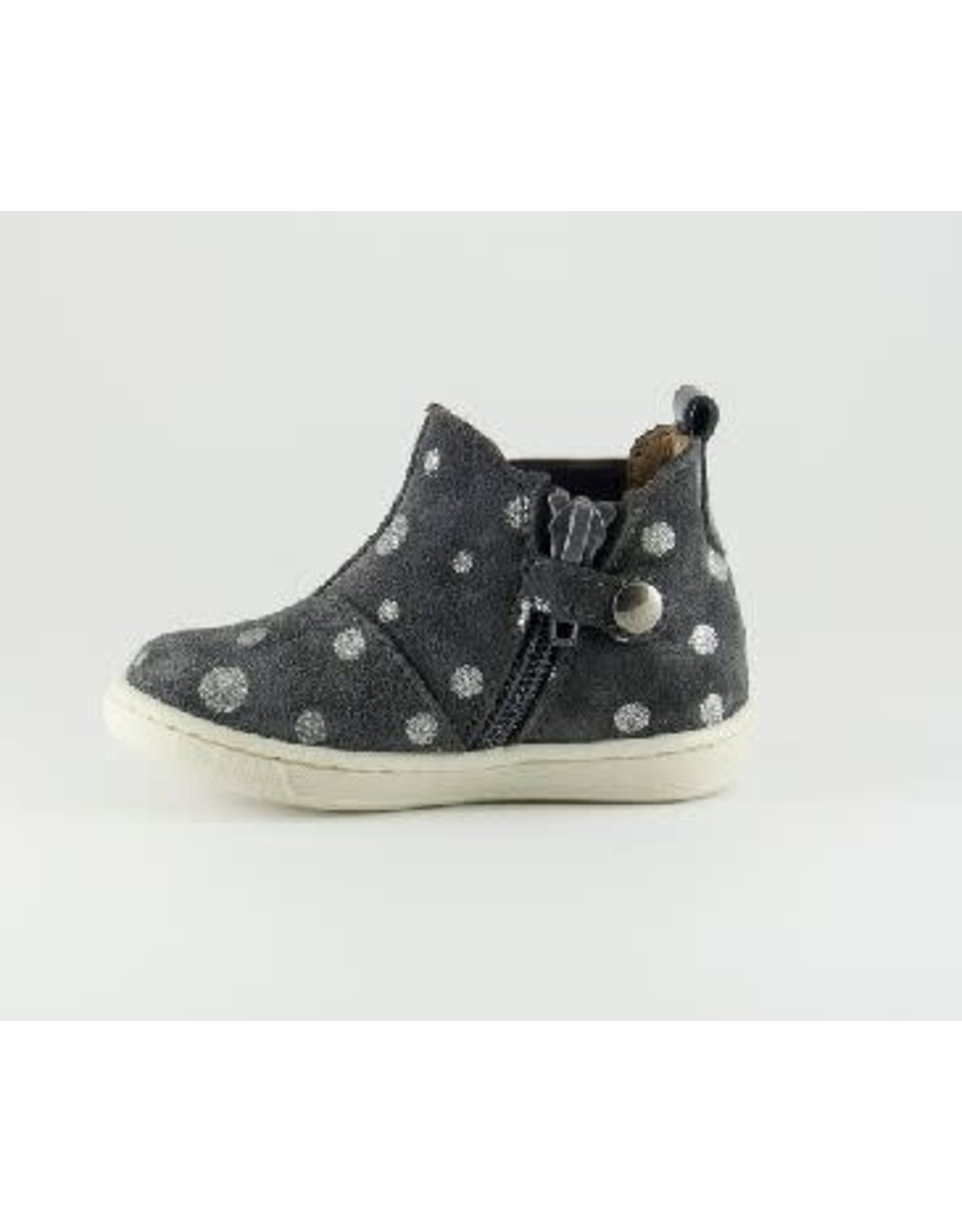 Walkey laars grey silver dots