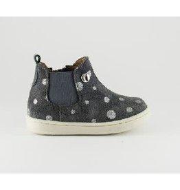 Walkey laars grey silver dots