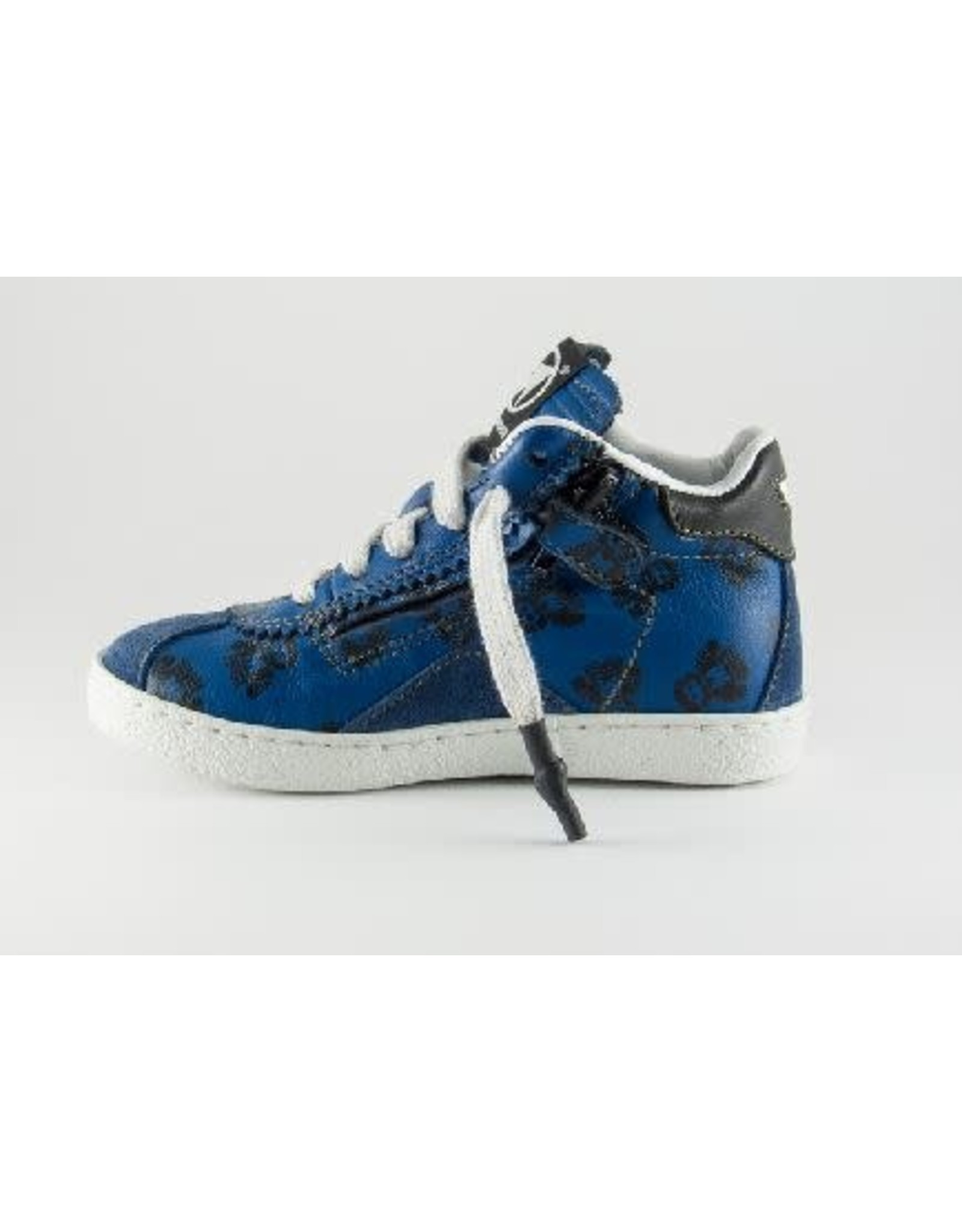 Momino sneaker blue robot