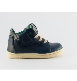 Rondinella sneaker blauw ruit