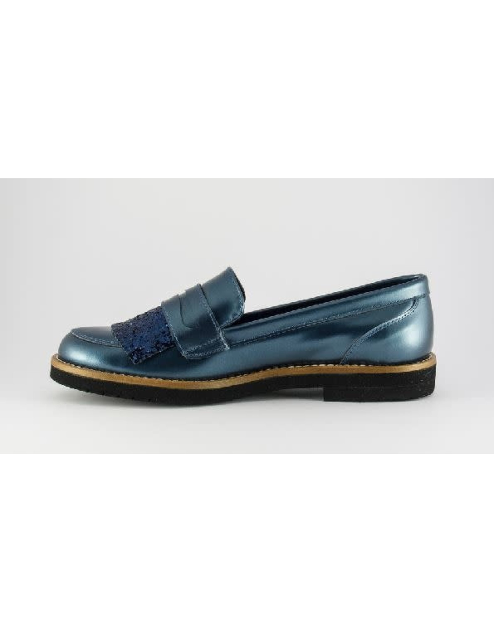 Eli loafer metal antik blue