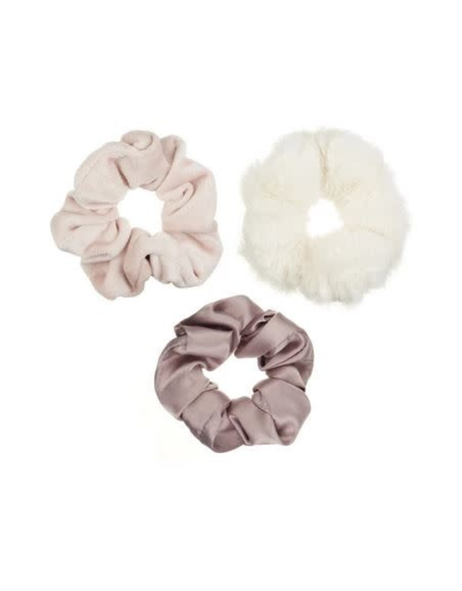 Mimi & Lula scrunchie soft blush (3st)