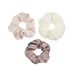 Mimi & Lula scrunchie soft blush (3st)