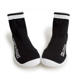 Collégien pantoffel black/white