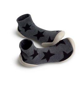 Collégien pantoffel grijs sterren