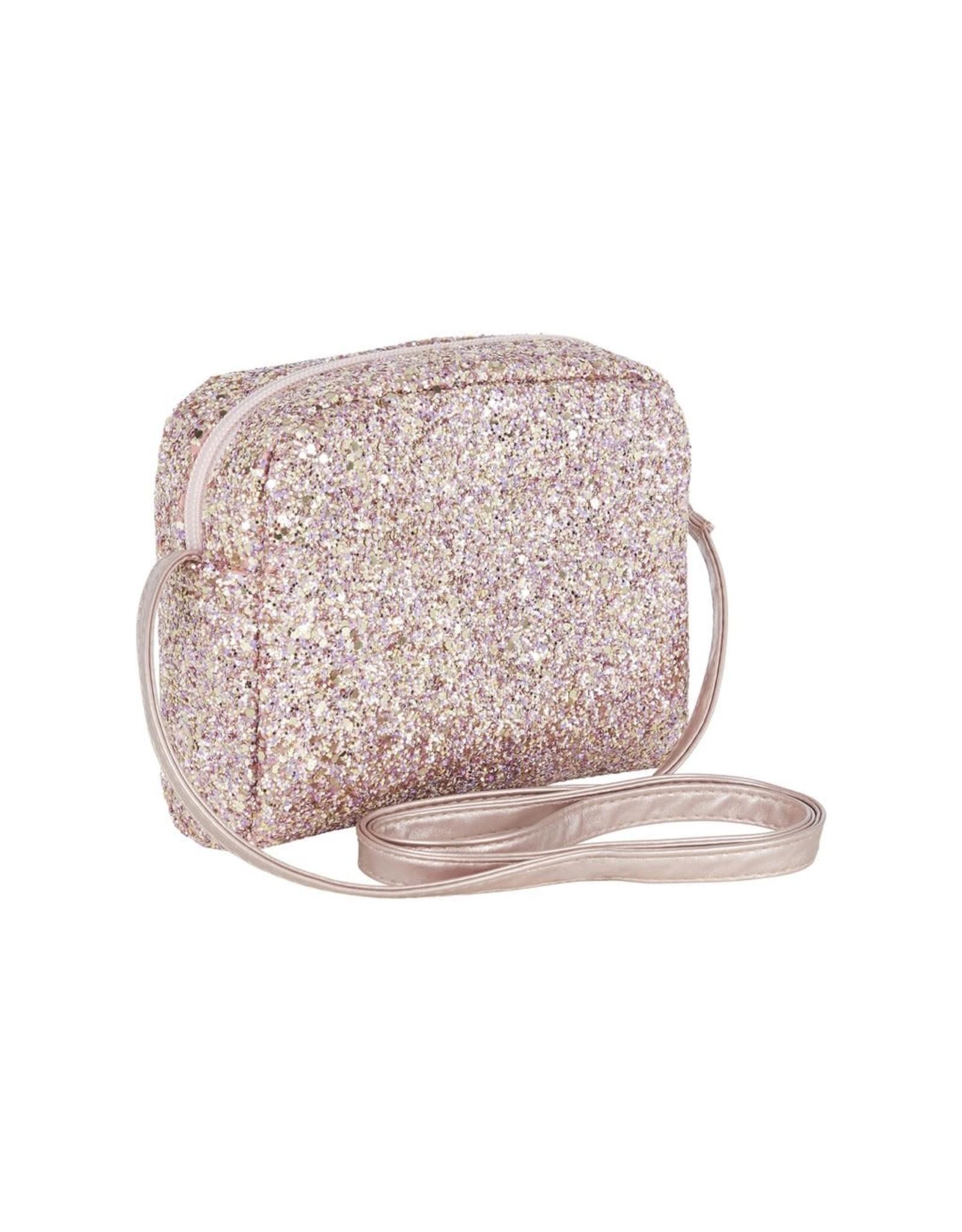 Mimi & Lula tasje roze glitter