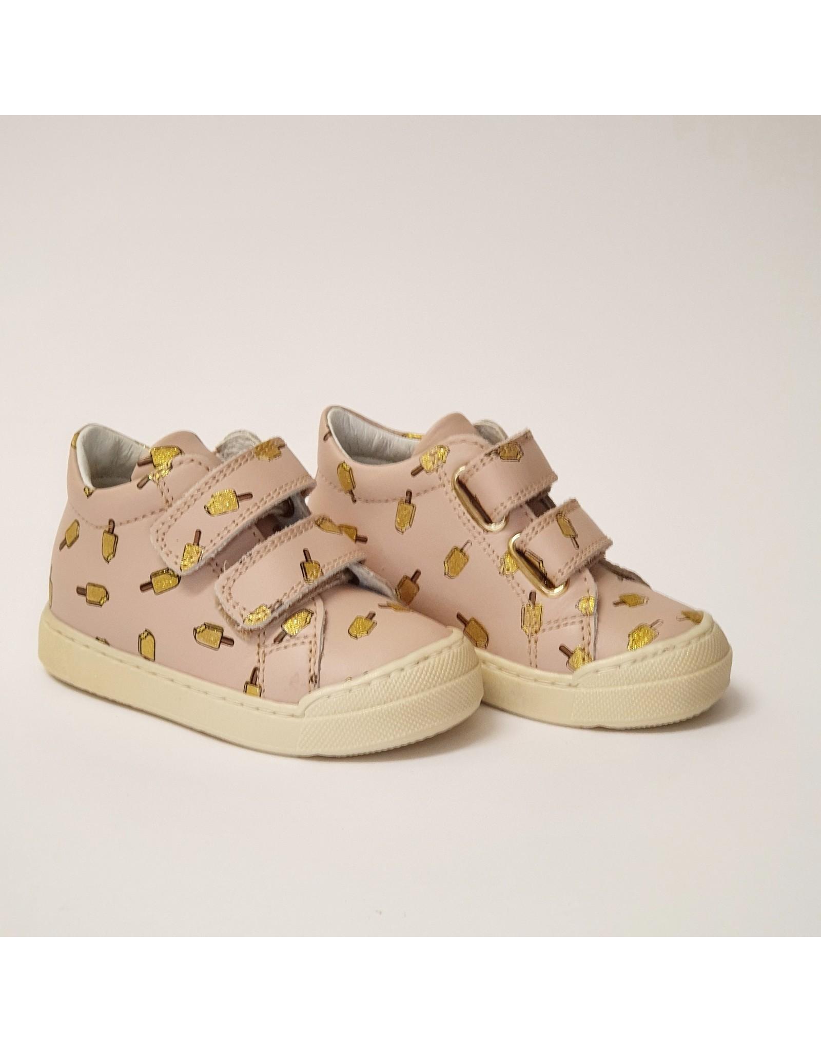 Naturino sneaker velcro snopes pink ice cream
