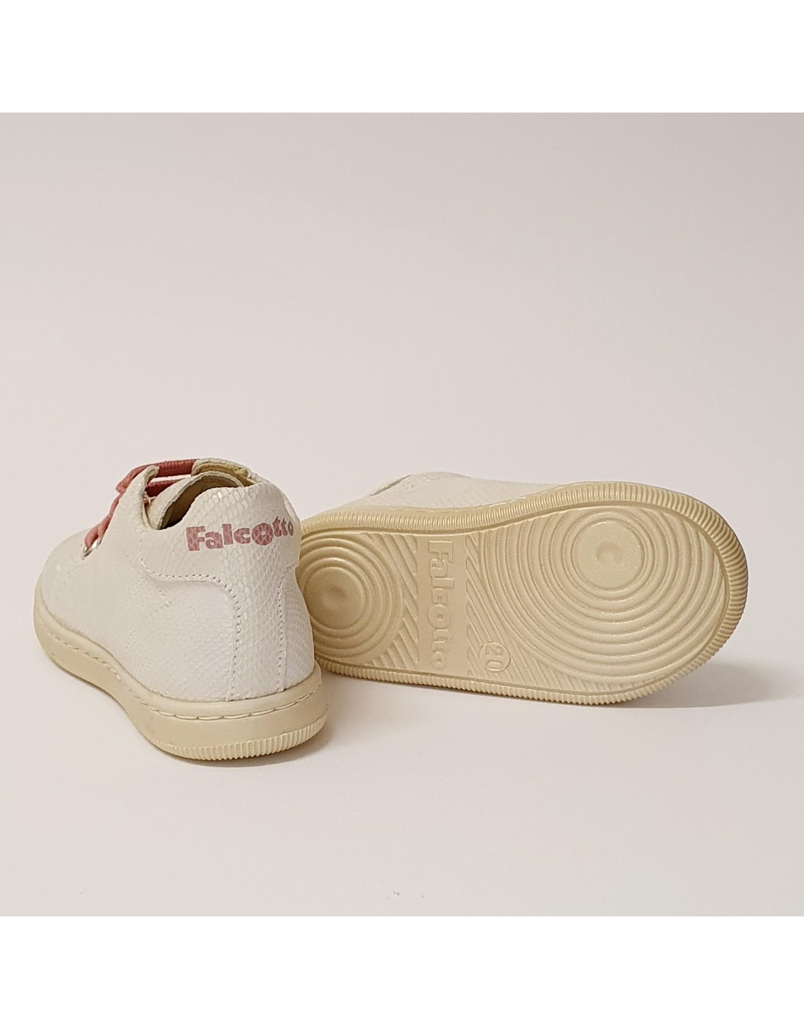 Falcotto sneaker adam lizard white