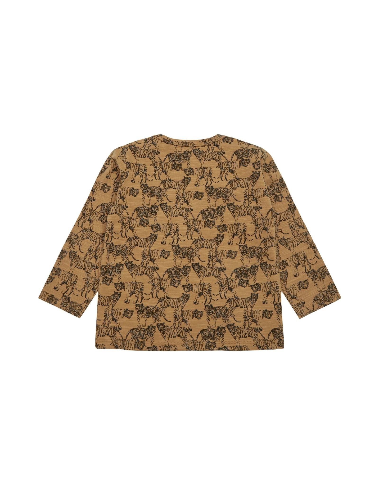 Petit by Sofie Schnoor trui oker luipaard