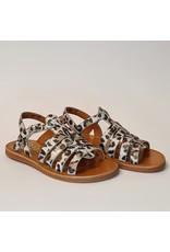 Pom d'Api sandaal plagette strap