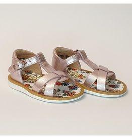 Pom d'Api sandaal poppy XeXe metalic blush
