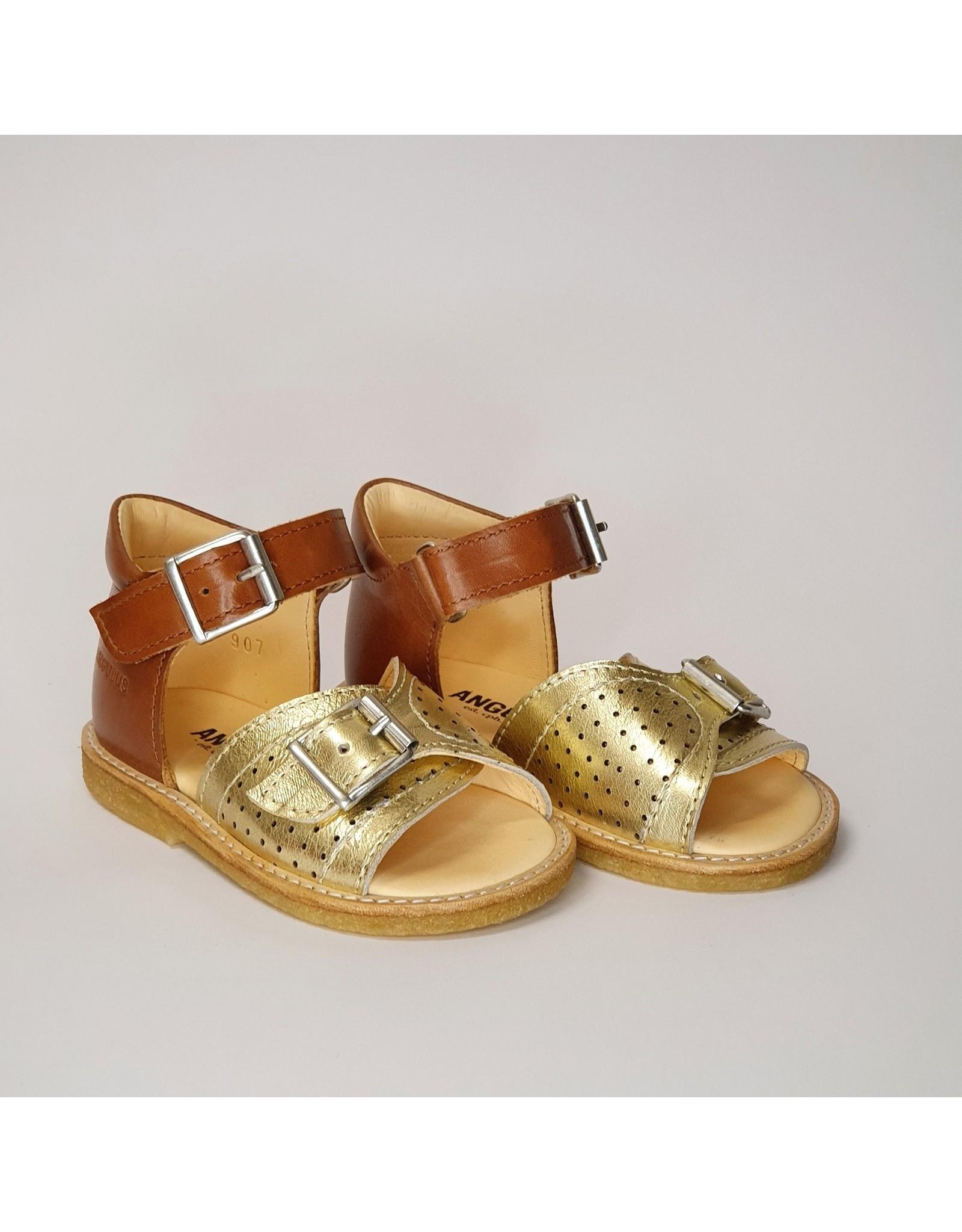 Angulus sandaal gold/cognac