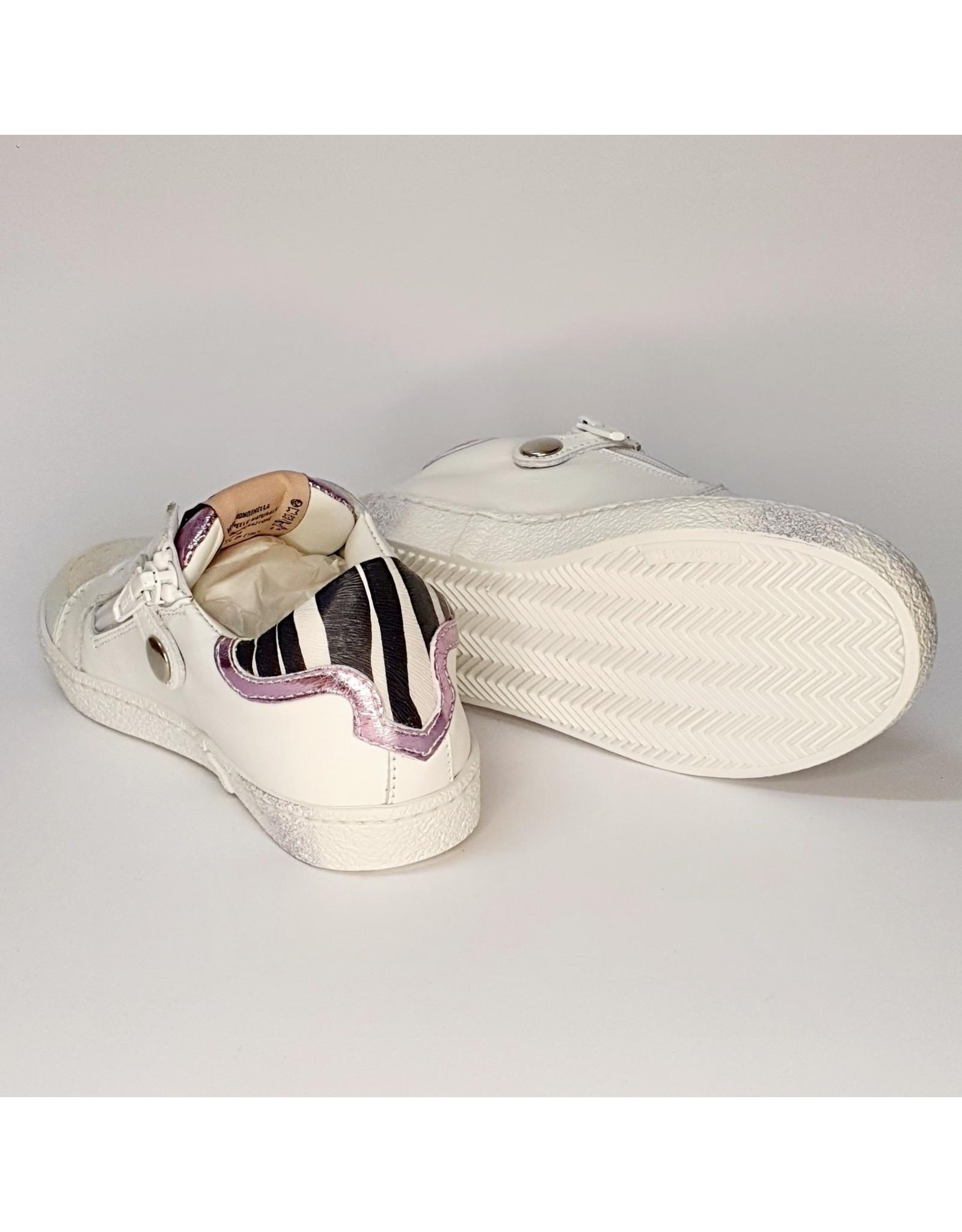 Rondinella sneaker croco wit ster