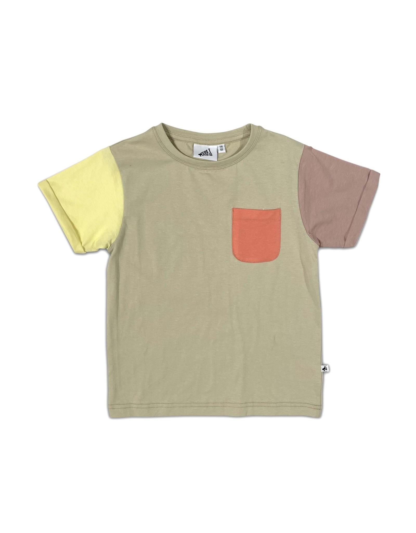 Cos I Said So color block t-shirt alfalfa