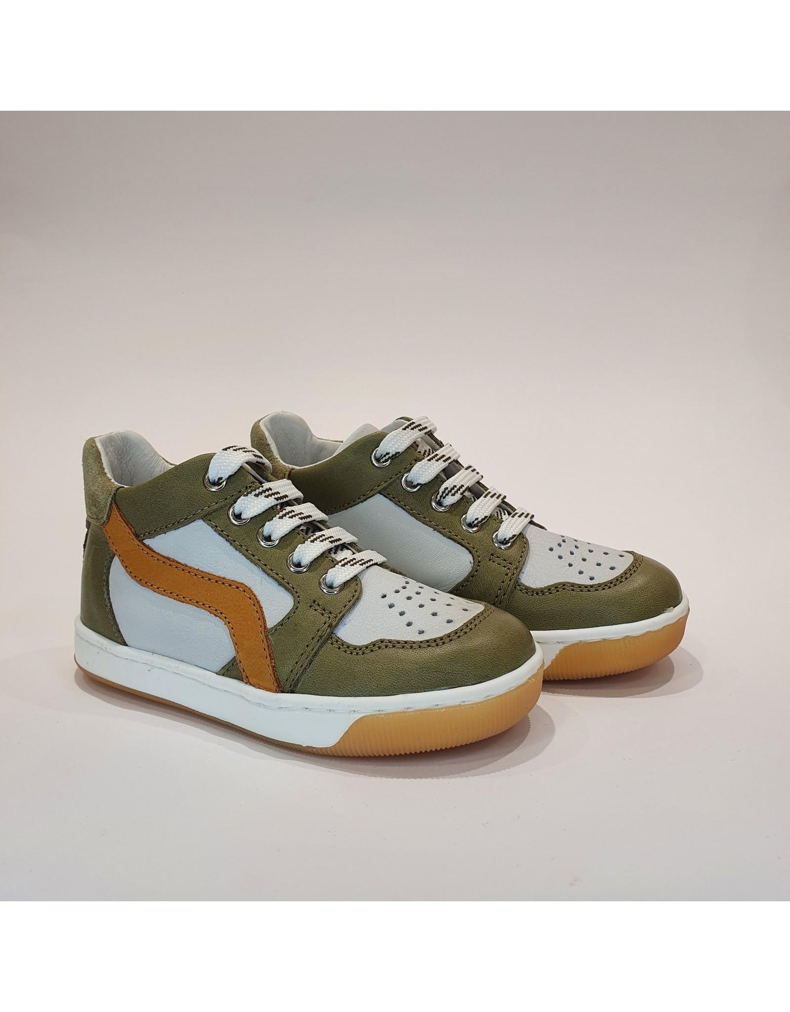 Falcotto sneaker abeia kaki/white