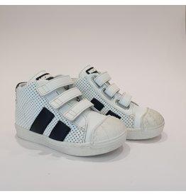 Momino sneaker hoog wit/zwart