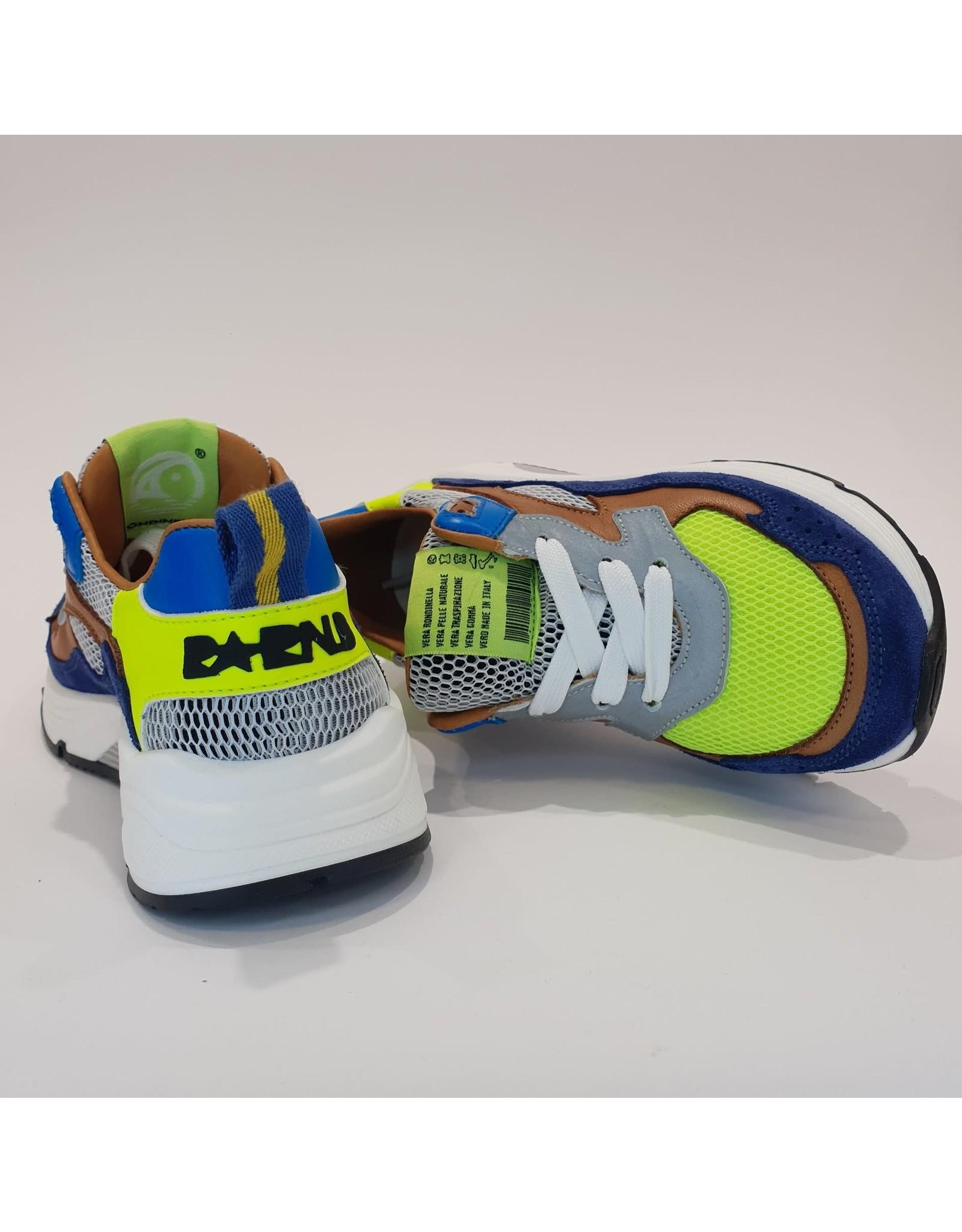 Rondinella runner blauw/fluo
