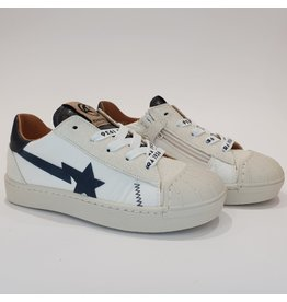 Rondinella sneaker wit/zwart ster