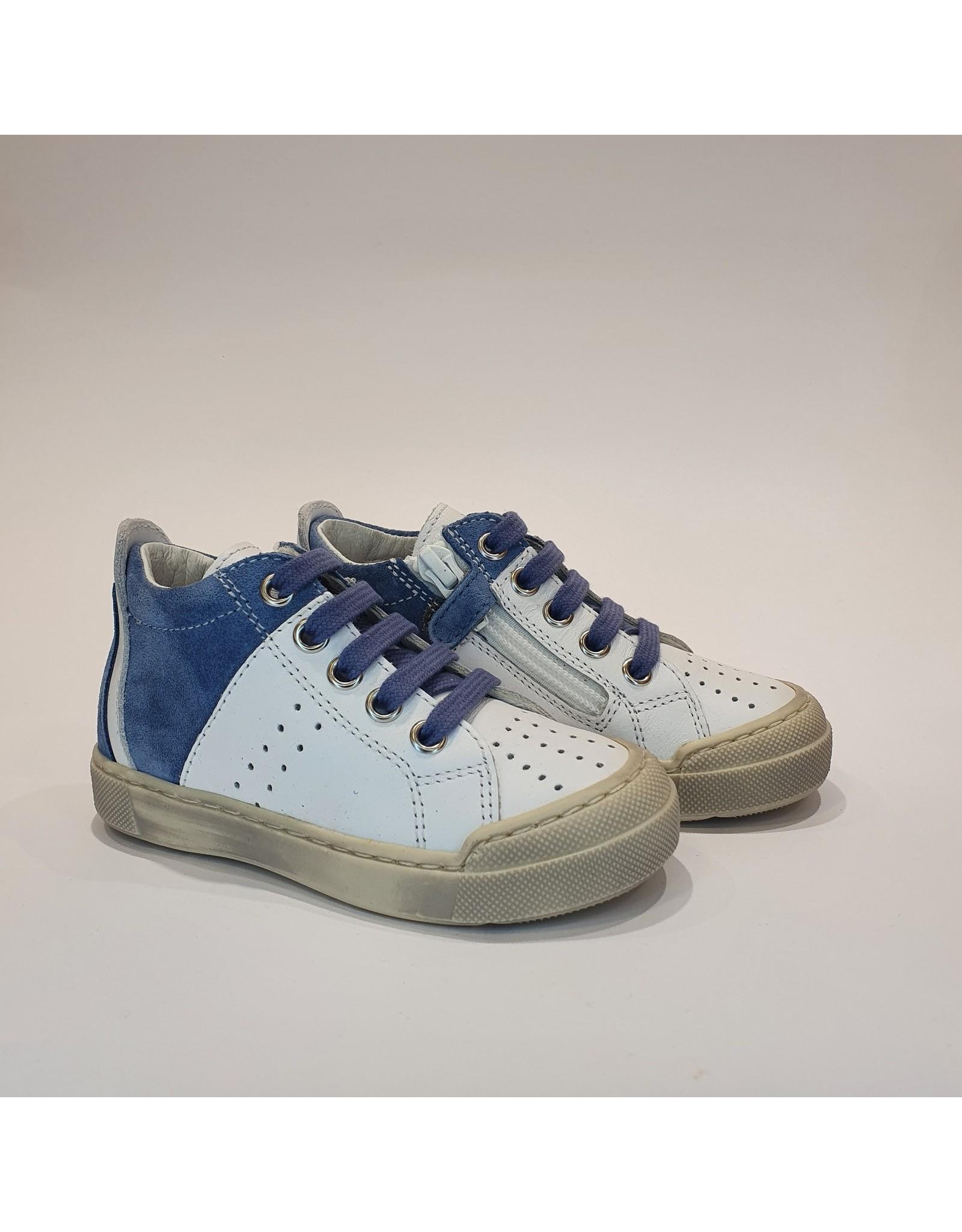 Falcotto sneaker fabron white celeste