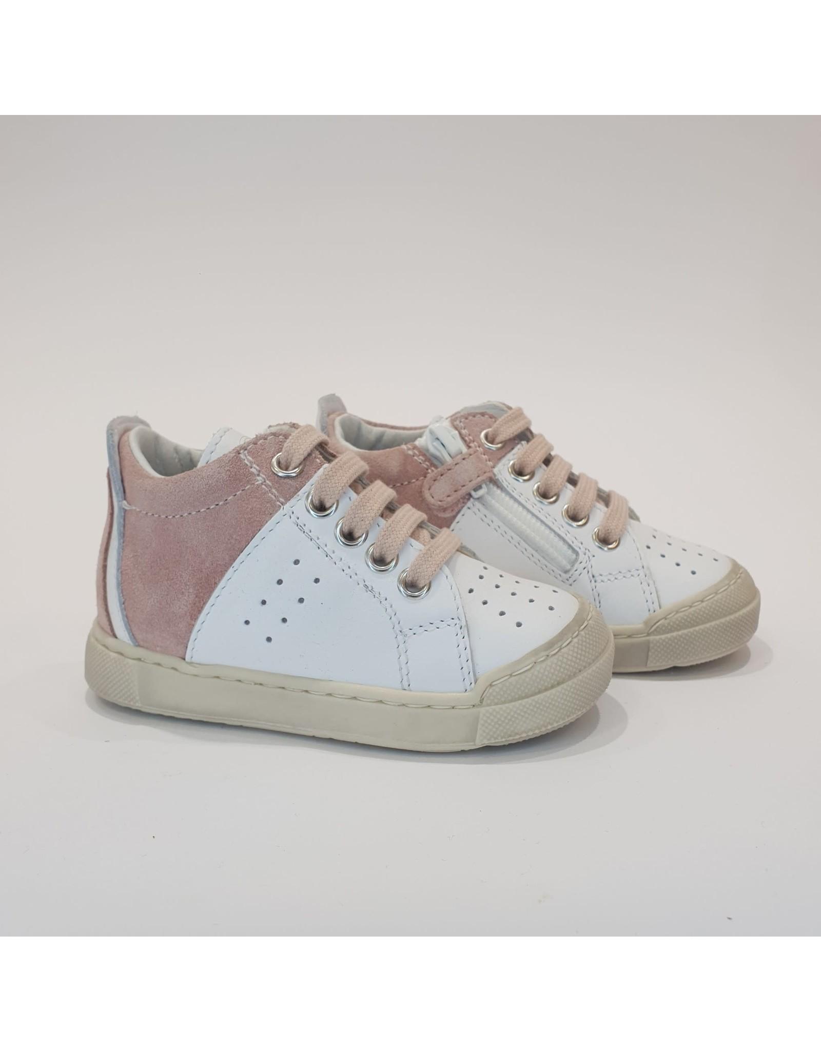 Falcotto sneaker fabron white pink