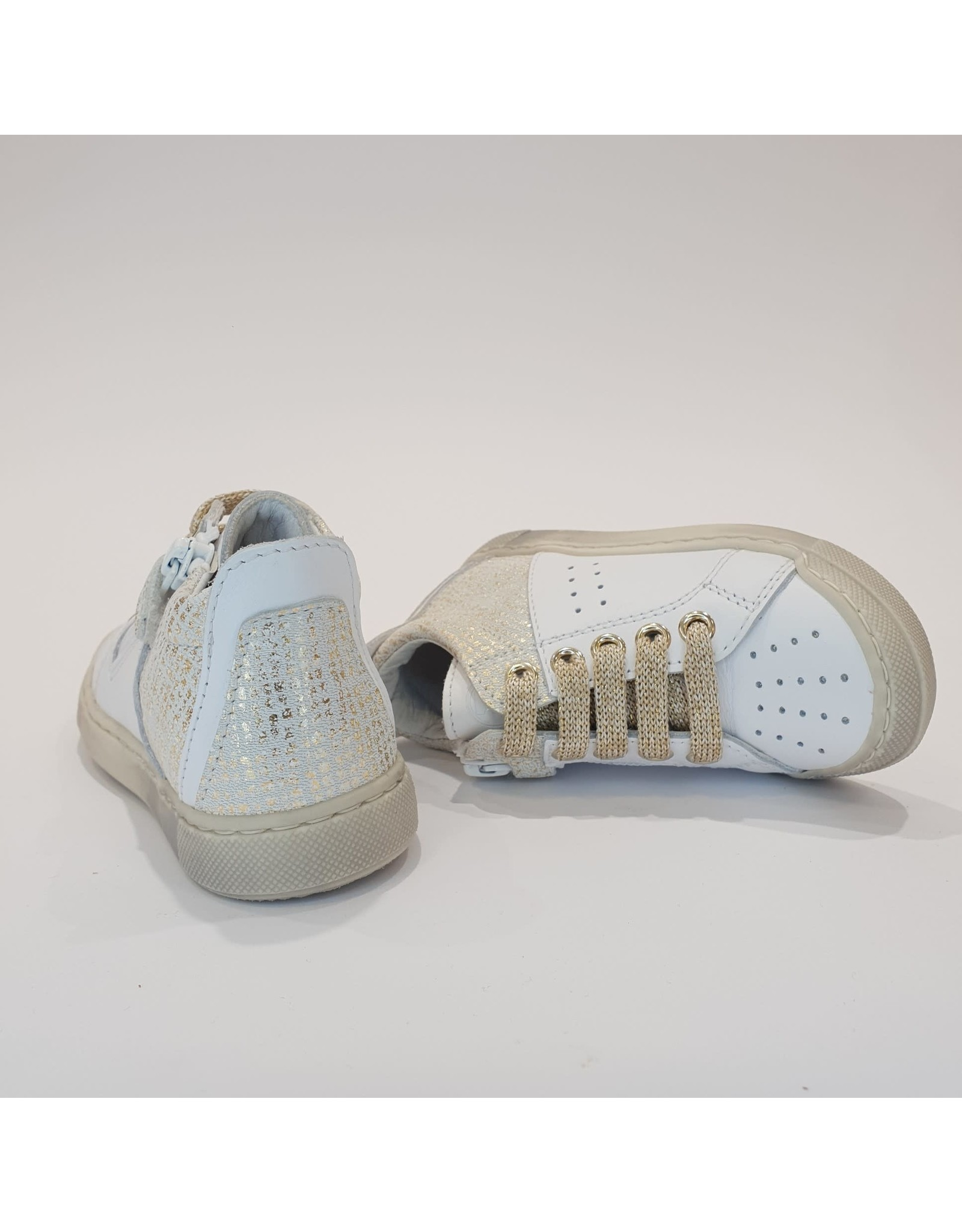 Falcotto sneaker fabron white platinum
