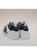 Momino sneaker laag velcro wit/zwart