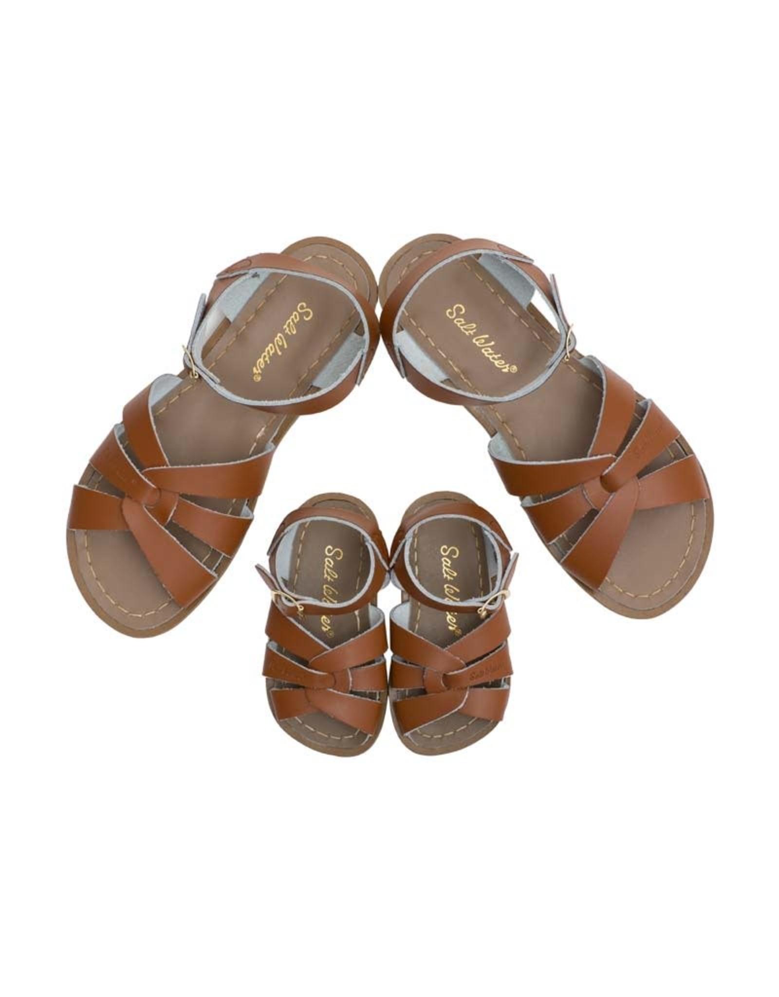 Salt Water Sandals original tan