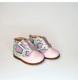 Clarys verterschoentje roze/snake