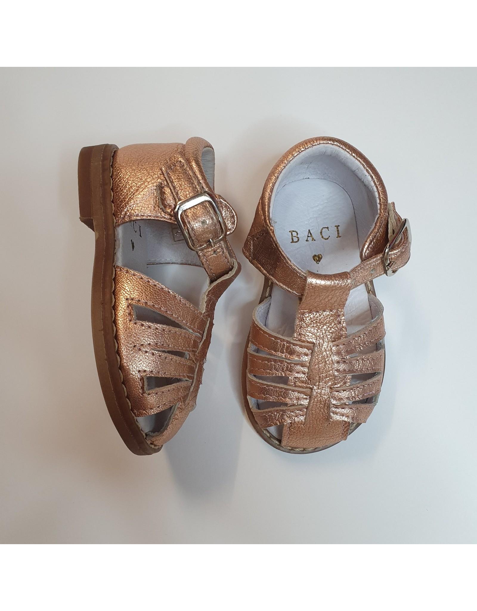 Baci sandaal roze metallic