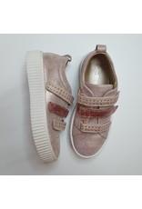 Fiorita sneaker velcro rose studs