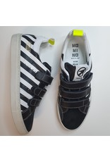 Momino sneaker white and black stripes