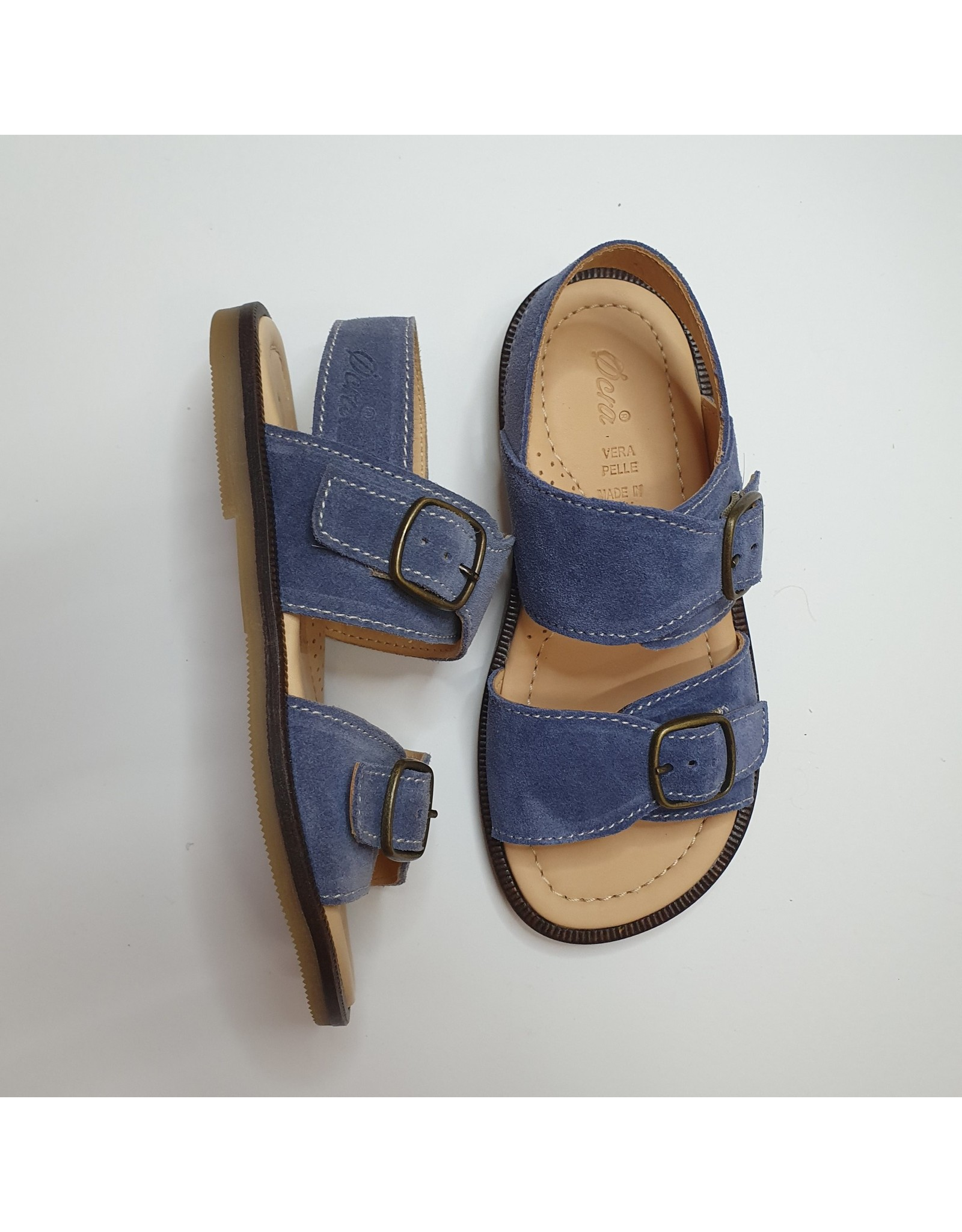 Ocra sandaal jeans