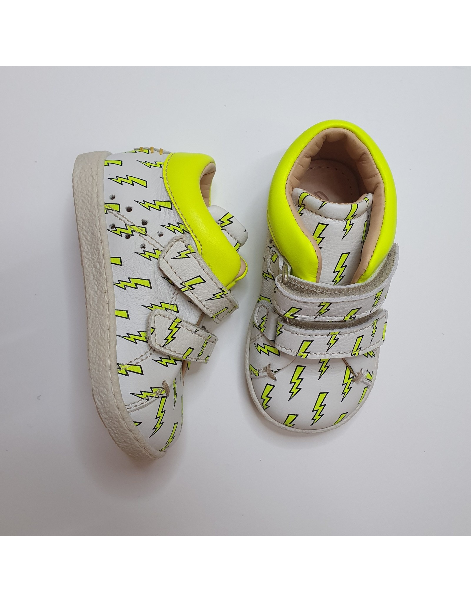 Ocra sneaker white yellow thunder