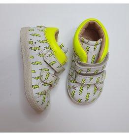 Ocra sneaker white yellow thunder