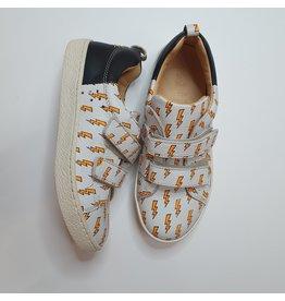 Ocra sneaker white orange thunder