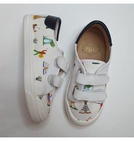Pépé loafer white indian