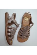 Pom d'Api sandaal nude metallic