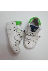 Rondinella sneaker white black ants green