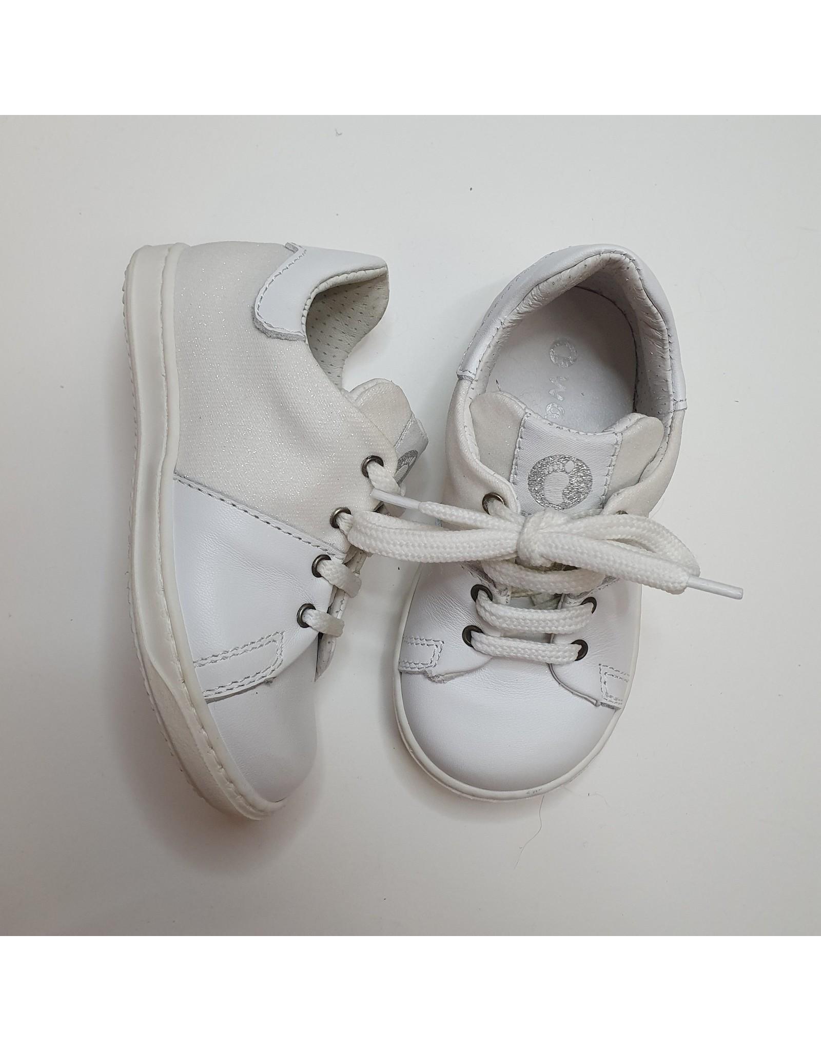 Walkey sneaker white glitter