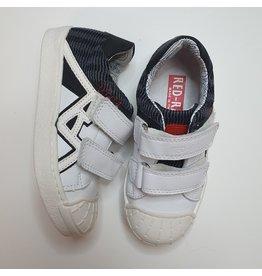 RedRag sneaker velcro wit zwart