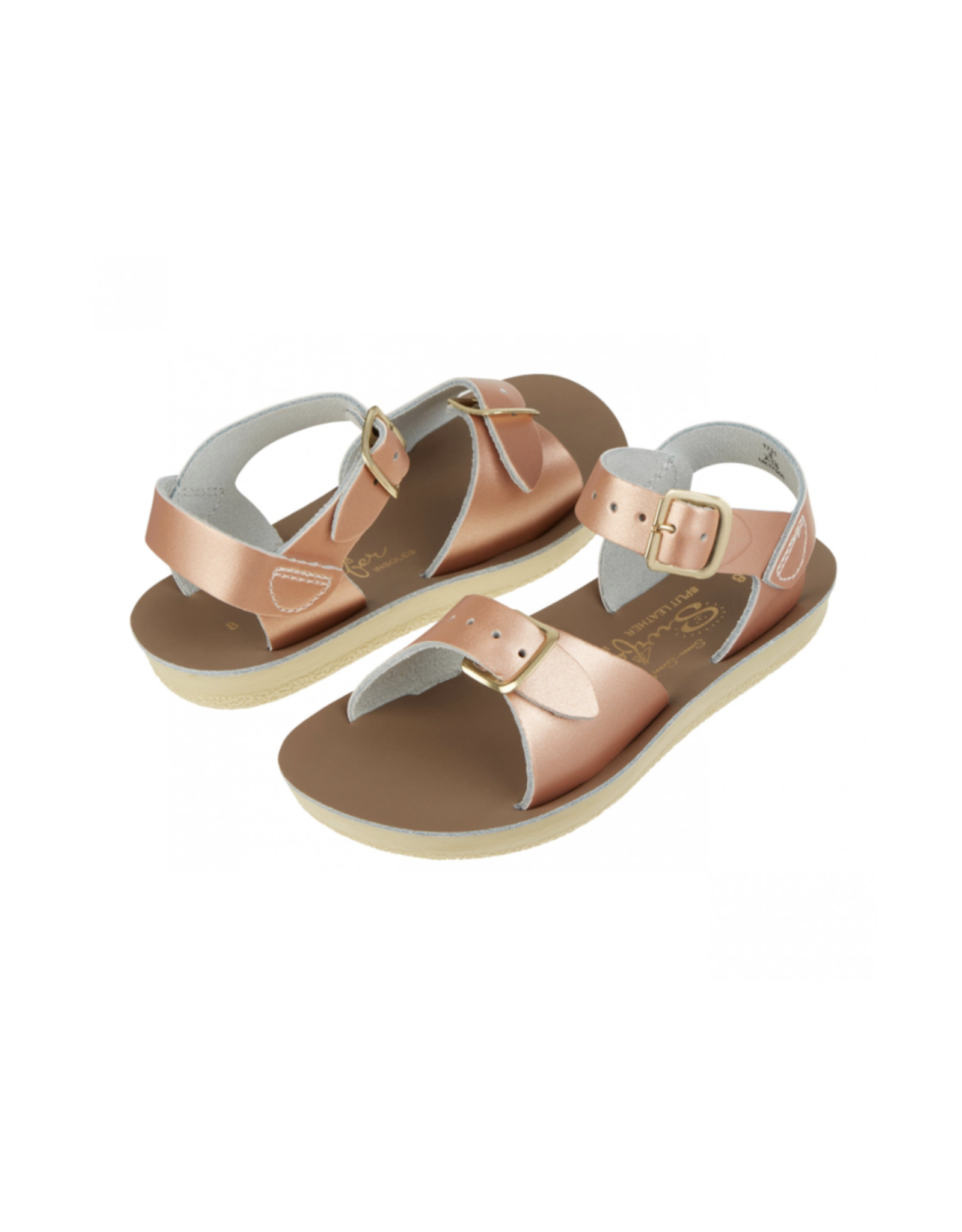 Salt Water Sandals surfer rosé-gold