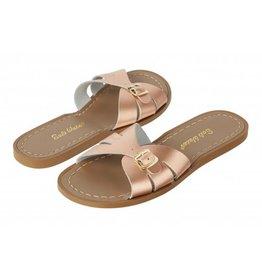 Salt Water Sandals classic slide rosé gold