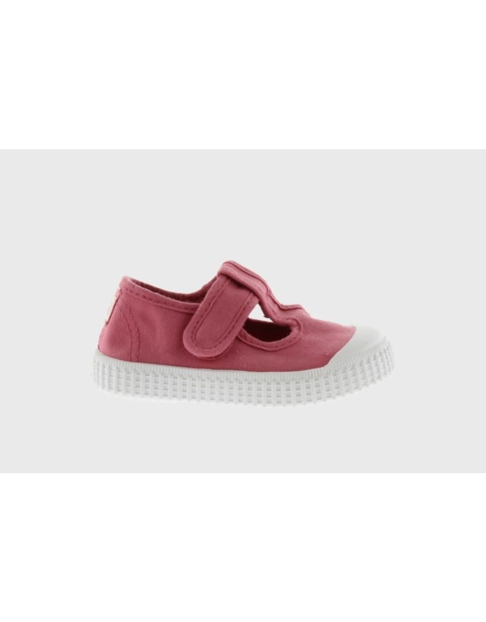 Victoria loafer t-band framboos