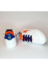 Naturino sneaker white orange