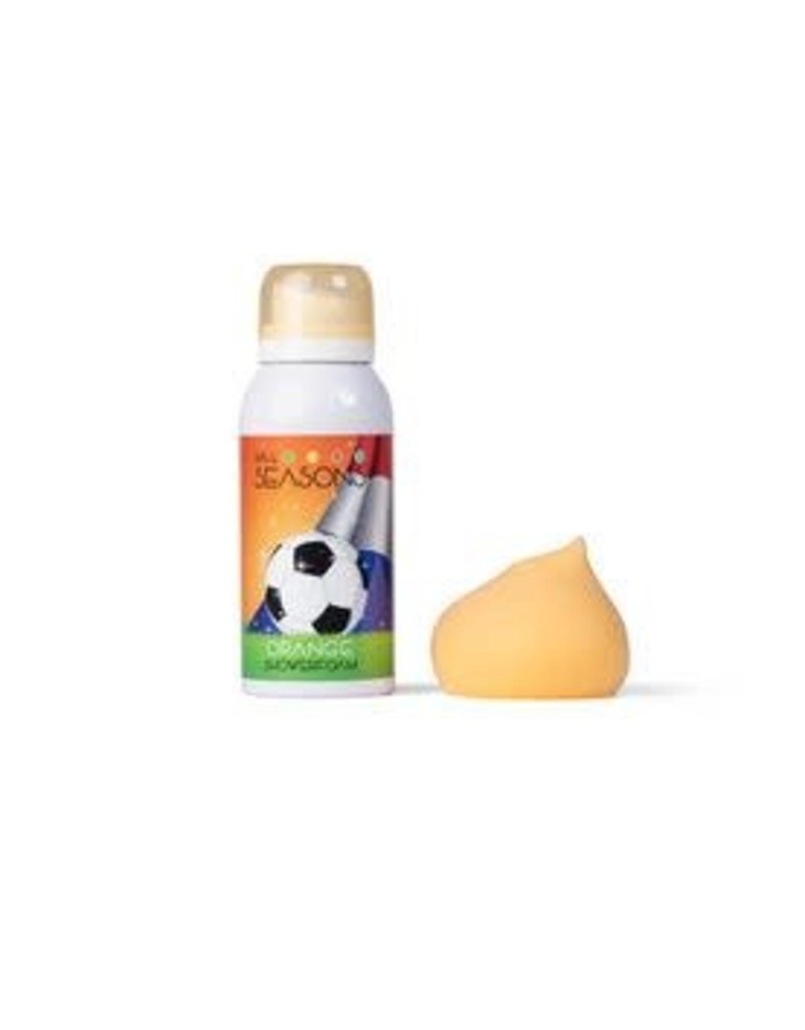 4all seasons Showerfoam orange voetbal 100ml