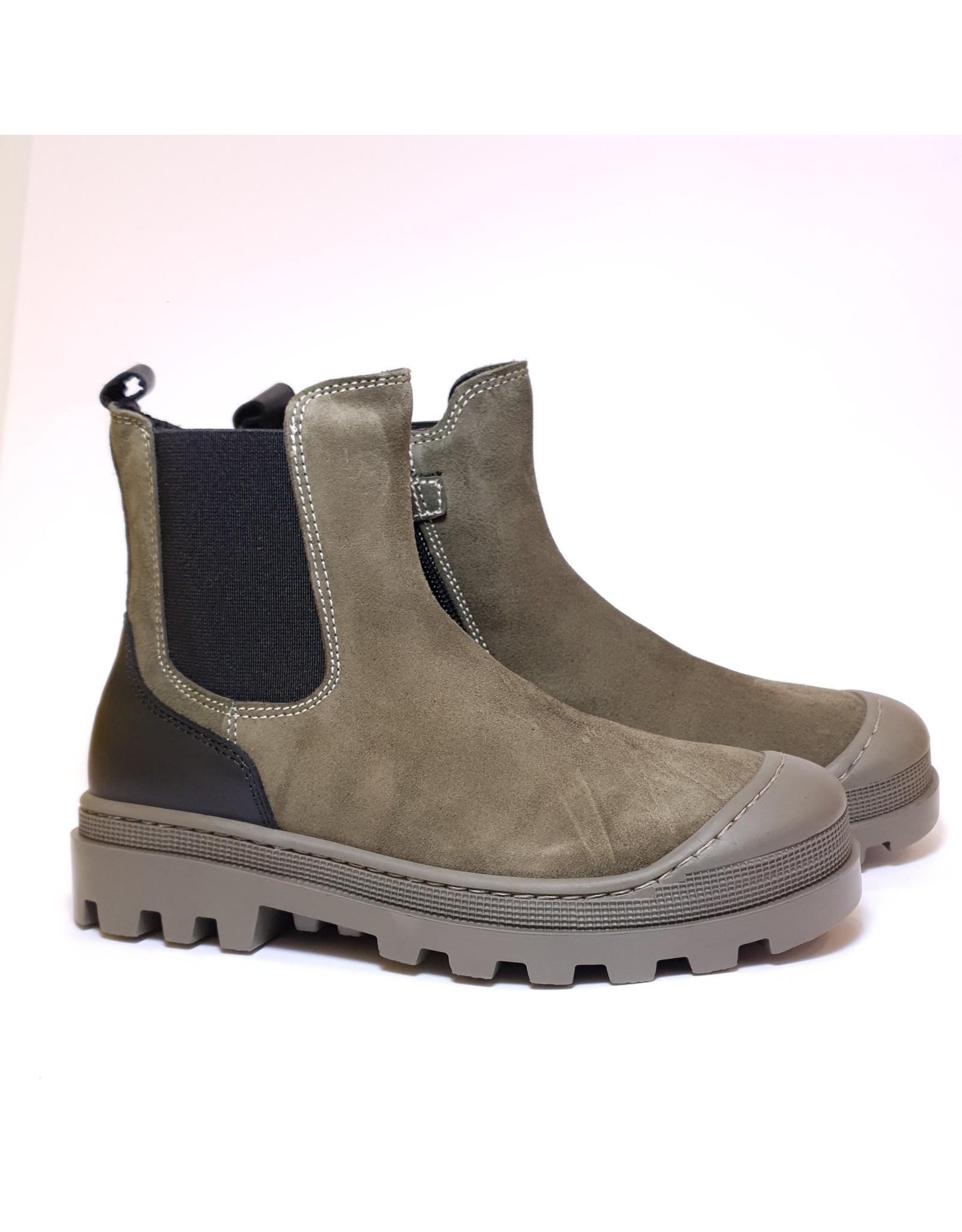 Andrea Morelli Boot kaki black